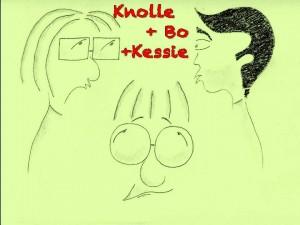 Willkommen in der wunderbaren Welt zweier Süper-Blinsen und ihrem zynischen aber gutem Gewissen Kessie.