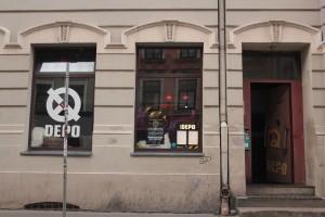 Das Depo in der Valnu Ciela ganz im Zentrum in Riga