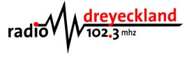 schwar-rotesLogo Radio Dreyeckland