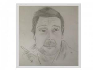 Portraitzeichnung Jörkk